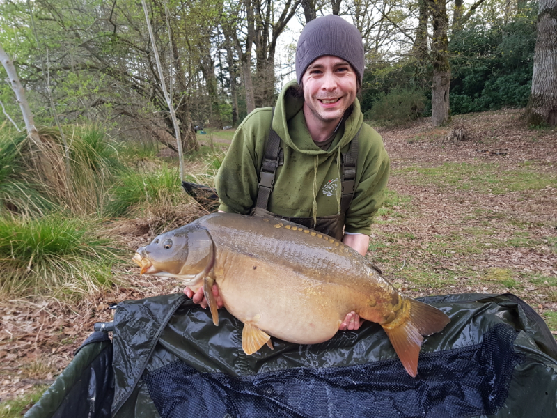 New Lake Record Common Carp 47lb 5oz